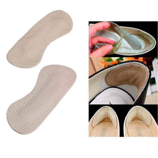 1 пара обуви для ухода за ногами, стельки для ног, подушечки для ухода за ногами, подкладка для стельки, обувь на высоком каблуке, удобная кожаная накладка на заднюю панель