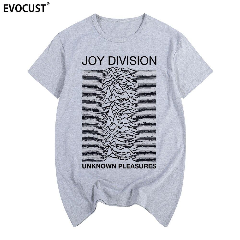 Joy Division Unknown Pleasures T-Shirt Mens FAC51 Factory Records Unisex Top