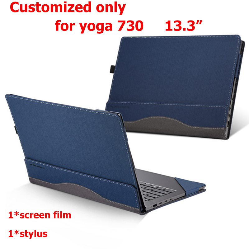 Creative Design Cover For Lenovo Yoga 730 720 13 3 Sleeve PU Leather Laptop customized Case