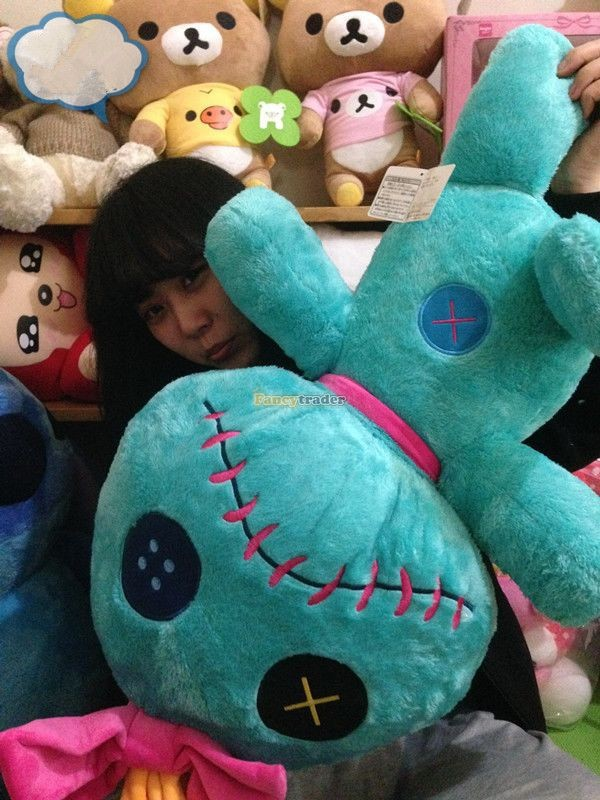 Fancytrader Copyrighted New 26\'\' 65cm Super Giant Stuffed Soft Plush Giant Cute Stitch, Free Shipping FT50794 (13)
