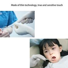5pair Disposable Rubber Latex Gloves Surgical Gloves Sterile Surgery Thicker Durable Household Cleaning Experimental Gloves