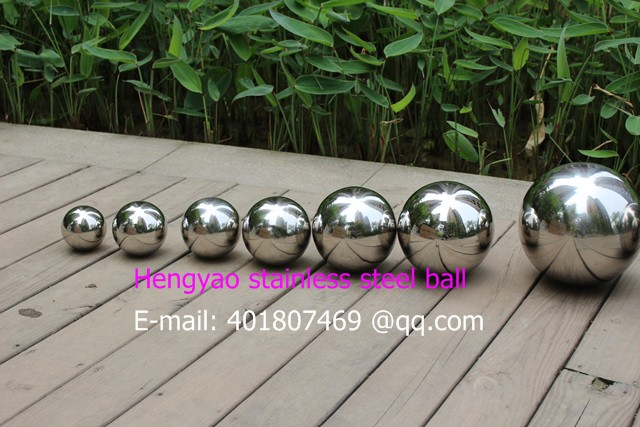 ᗐ75mm diámetro 304 bola del acero inoxidable, bola hueca ...