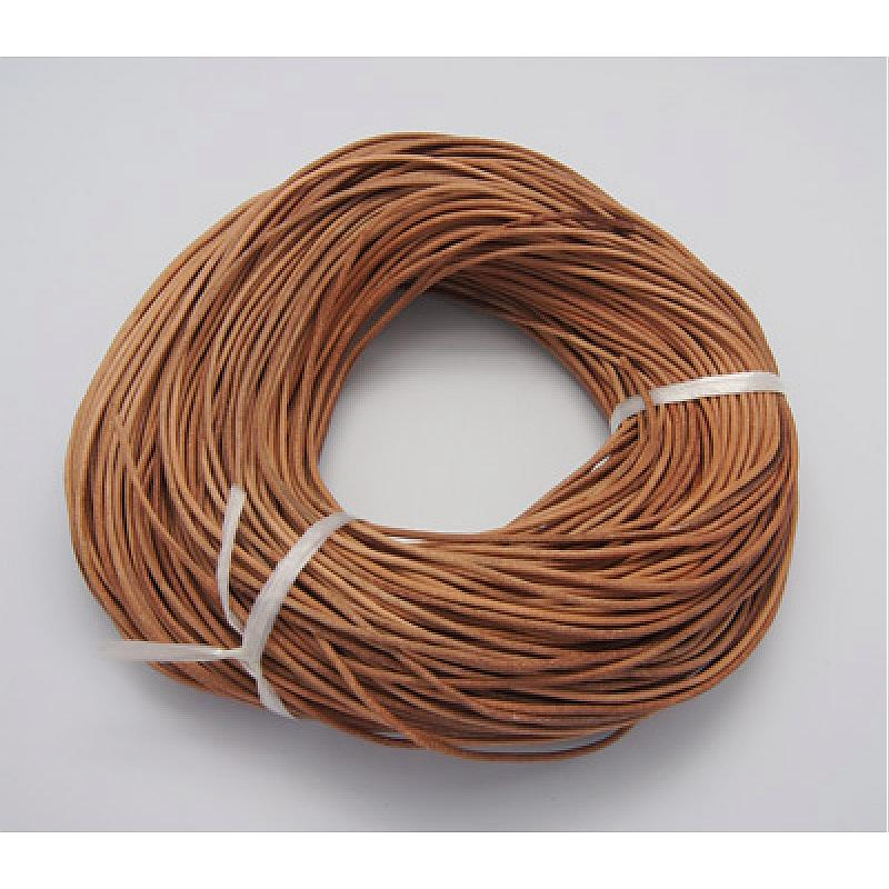 100m/bundle 1.5mm Cowhide Leather Cord For Jewelry Making Leather Jewelry Cord Peru Clients First