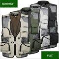 2016 New Quick-Drying Mesh Vest Large Size Vest With Many Pockets Vests Photography Men'S Vest Wholesale Mv91060