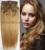 280 g/set 26 colores Envío Libre MÁS GRUESA Cabeza Completa de seda suave remy Brasileña Del Pelo Humano Clips En/sobre Extensiones #16