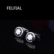 FELFIAL Luxury shirt cufflinks for men's Brand cuff buttons