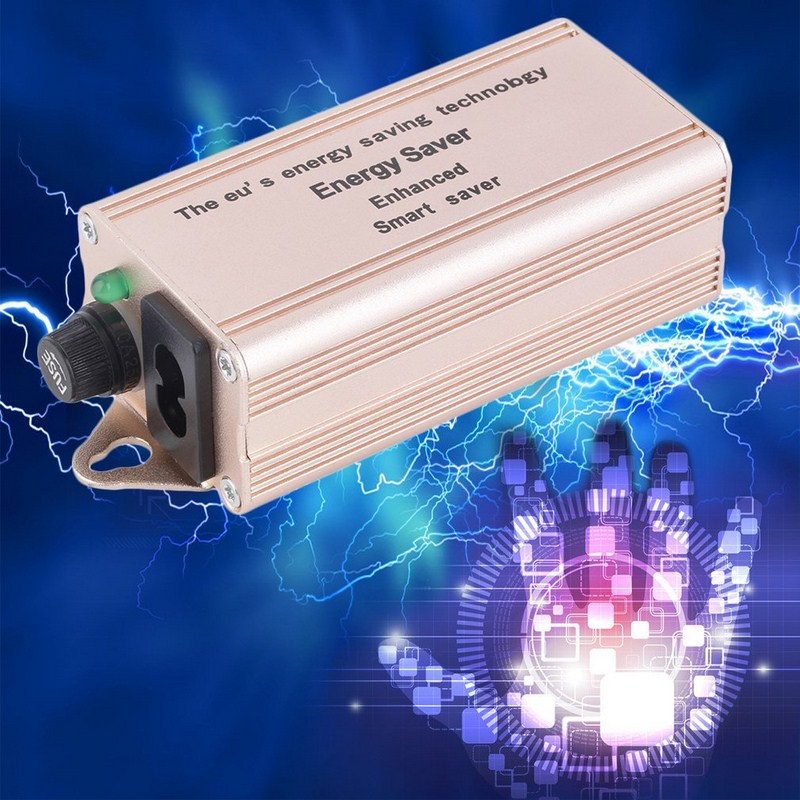 High Quality Charger Accessories Smart Electricity Enhanced Saving Box Power 15%-35% Energy Saver + US Plug Power Supply