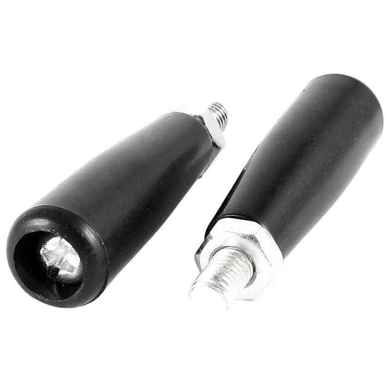 2 PCS M8 Male Thread Milling Machine Rejuvenation Rotatable Handle Hand Grip