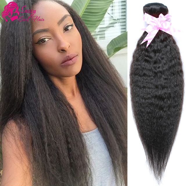 7a Brazilian Virgin Hair Kinky Straight Weave Cheap Afro Kinky