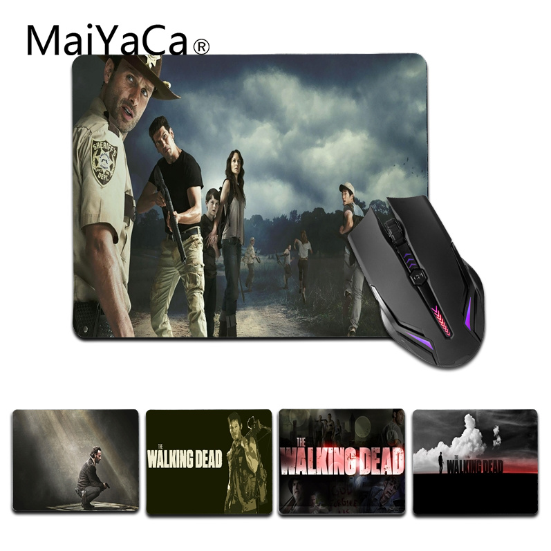 MaiYaCa The Walking Dead Season Office Mice Rubber Mouse Pad Size for 180x220x2mm and 250x290x2mm Small Mousepad