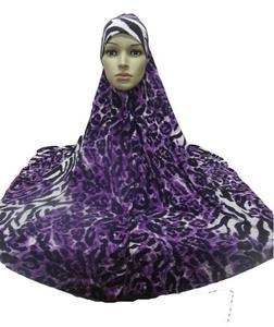 Image 3 - ผู้หญิงมุสลิมสวดมนต์ขนาดใหญ่ Hijab Amira Khimar Headwear อาหรับ Overhead เสื้อผ้าสวดมนต์การ์เม้นท์หมวก Hijabs นินจาอิสลามใหม่