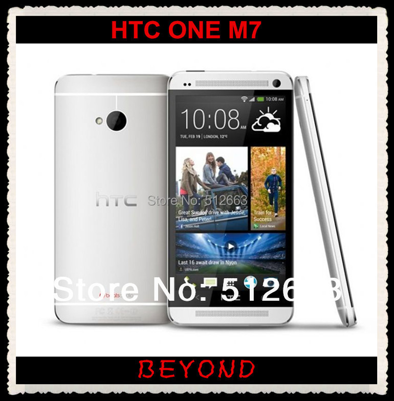 HTC One Unlocked GSM 3G & 4G Android Quad-core ONE M7 32 GB Mobile Phone 4.7