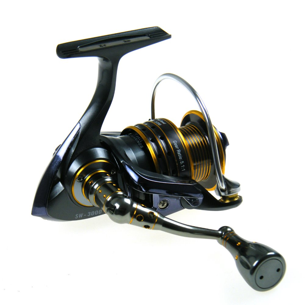 Fishing Reel SW1000-6000 11+1 Ball Bearing Front Drag Fishing Aluminium Handle Spinning Reels SW-CLF Series Salt Water Reels fishing reel 2017hot fast 3000 h 4000 h 5000 6000 spinning reels 6 2 1 4 7 1 11bb anti corrosion fishing salt coil salt water