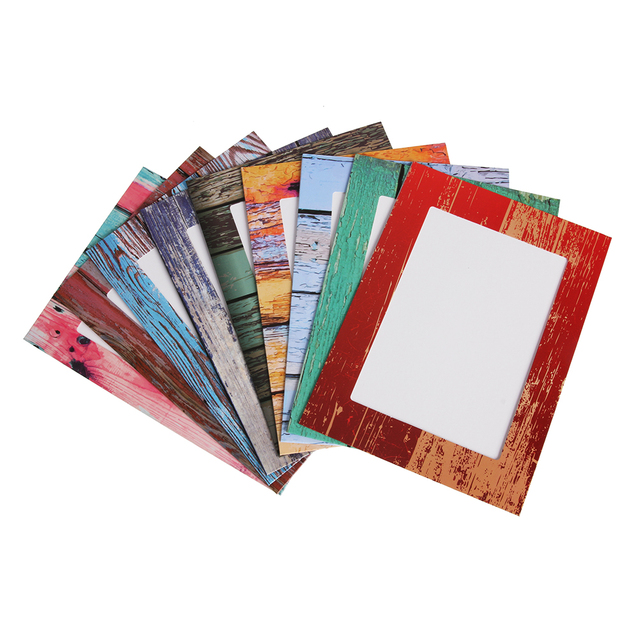 9Pcs 7 Inch Creative Gift DIY Home Decor Office Photo Frame Wall Hanging Paper