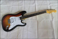 Glisten ST sunburst electric guitar free shipping , ST18