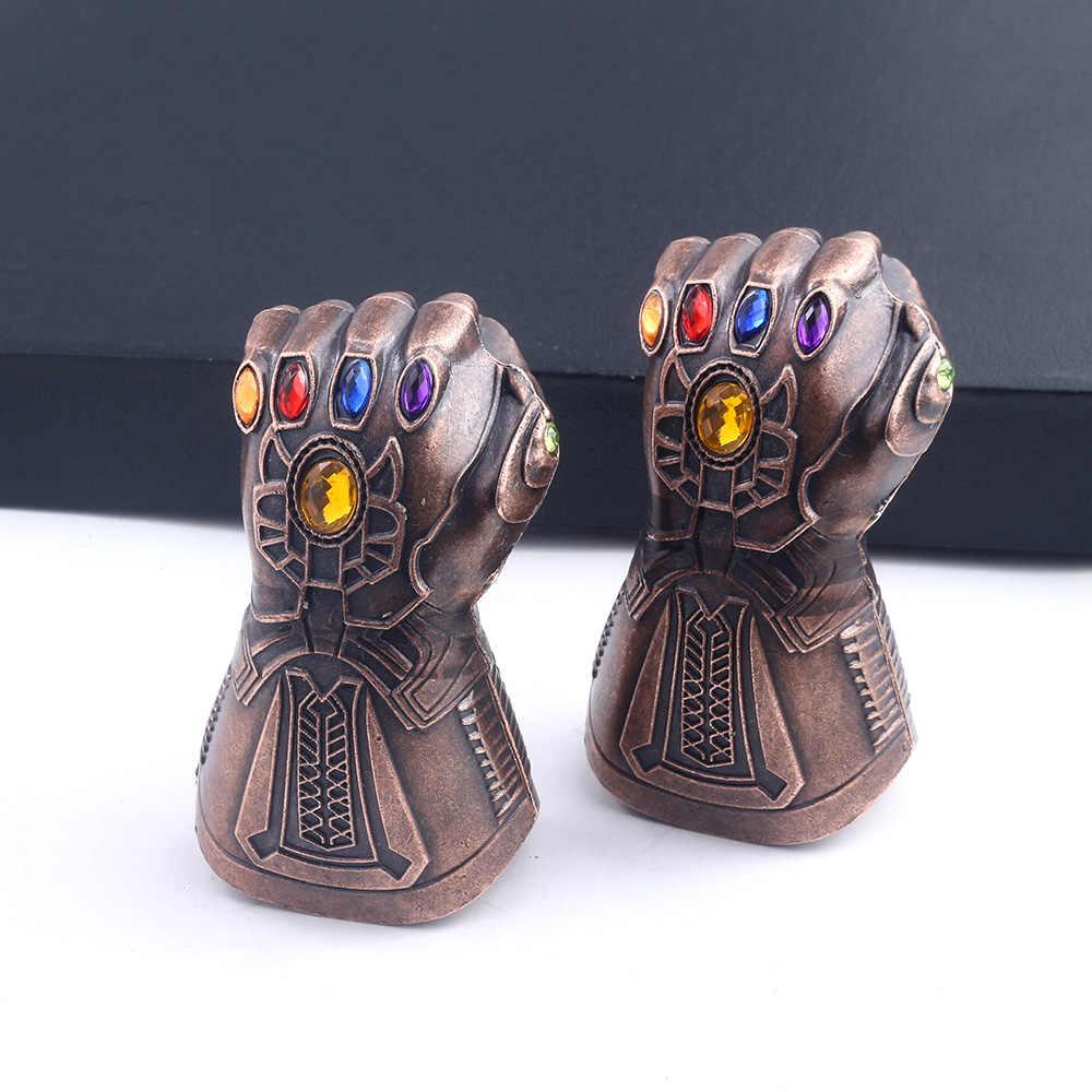 Мстители танос перчатки брелок открывалка для бутылок пива брелок Marvel Мстители конец игры Бесконечность война 3D кулон брелок для мужчин