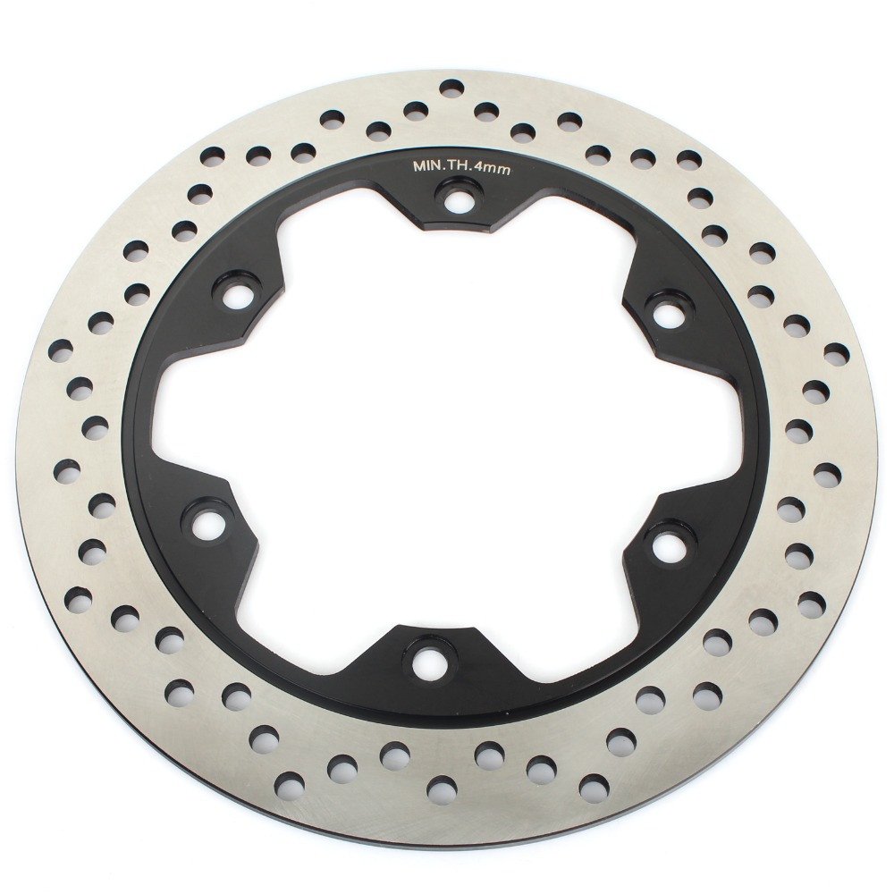 BIKINGBOY for Honda NT 650 V Deauville 98-05 NV680V NT 700 13 CB 1000 Big One F Superfour Big Four 93 Rear Brake Disc Disk Rotor bikingboy front brake disc rotor for honda vf 250 v twin magna nt hawk gt 650 ntv revere 650 vf shadow 750 ace aero 1100 88 2007