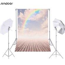 Andoer 1.5*2.1 m/5 * 7ft Nhiếp Ảnh Nền Xưởng Backdrop Video Backdrop Photo Studio Đạo Cụ 9 Màu Phông Nền chụp ảnh
