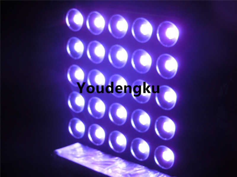 Stage Light 3in1 RGB LED 25pcs x 30w 5x5 LED Matrix Panel Light