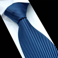 Mantieqingway weeding Corbatas para Los Hombres Al Por Mayor de los hombres Clásicos Corbata Corbatas Rayadas Moda Casual Arco de Poliéster Corbatas