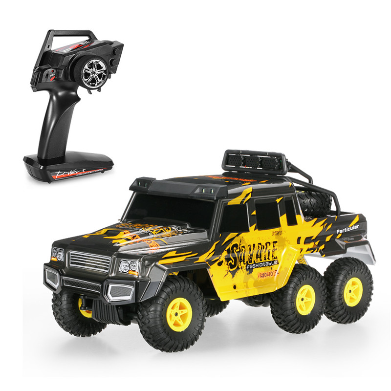 Фотография 1/18 2.4G 6WD RC Car Toys Electric Crawler Truck Off Road Remove Control