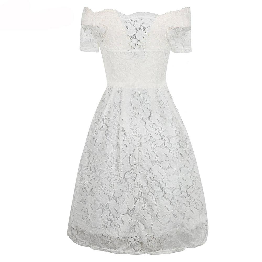 ED-A113 white short sleeve back