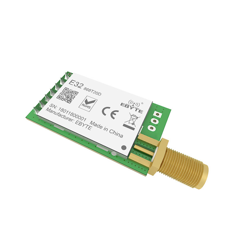 Image 4 - SX1276 TCXO 868MHz 20dBm LoRa UART ebyte E32 868T20D rf Long Distance SMA K Connector Transmitter Receiver Wireless rf Module-in Fixed Wireless Terminals from Cellphones & Telecommunications