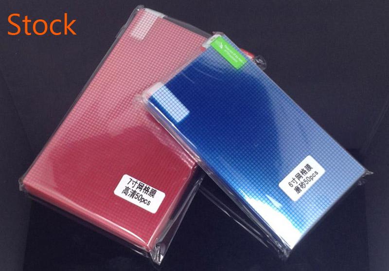 3 sztuk/partia jasne lub matowe uniwersalny ekrany ochronne 5/6/7/8/9/10/11 /12 Cal folie ochronne dla telefonów komórkowych tablet z funkcją telefonu samochód GPS LCD 7