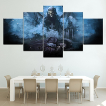 5 Pieces Avenged Sevenfold Poster Canvas Painting Wallpapers modern Modular art painting for Living Room Decor