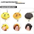 4cm kawaii squishy kapibarasan squeeze filled bun toys for cell phone key ring handbags charm straps squishies bread