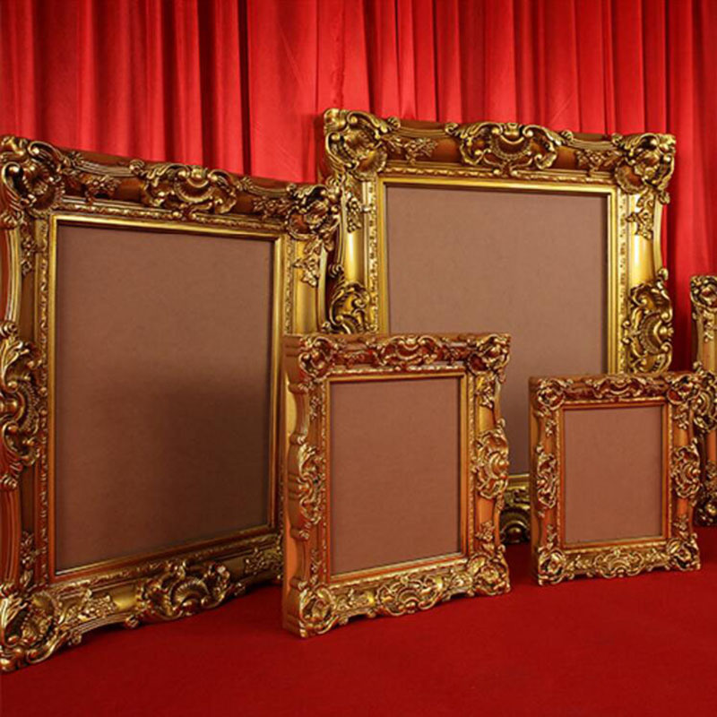 Wholesale Antique Gold European Photo Frames Plastic Photo Painting ...