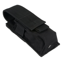 Tactical Modular Single Magazine Rifle Pouch Pistol Cartridge Clip