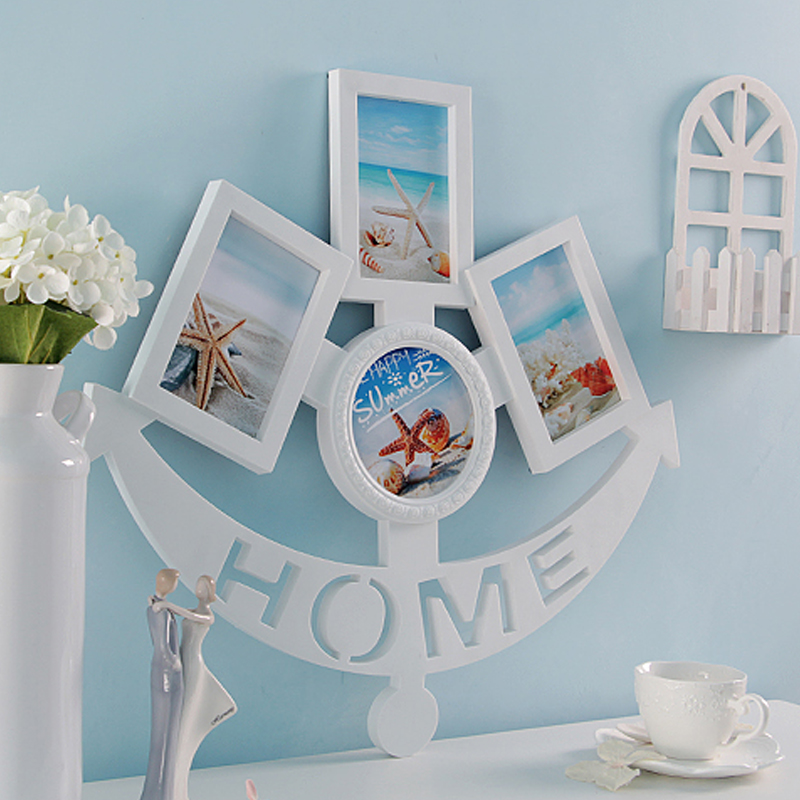 HOME Collage Table Frame 4 Openning Photo Picture Frame for Photo Studio Home Decoration