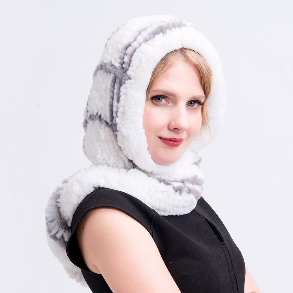 rex rabbit fur hat plaid (9)