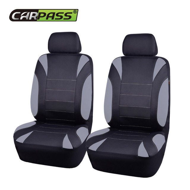 Car Pass EVA Seat Cover Front 2 Covers Universal Auto Interior Accessories