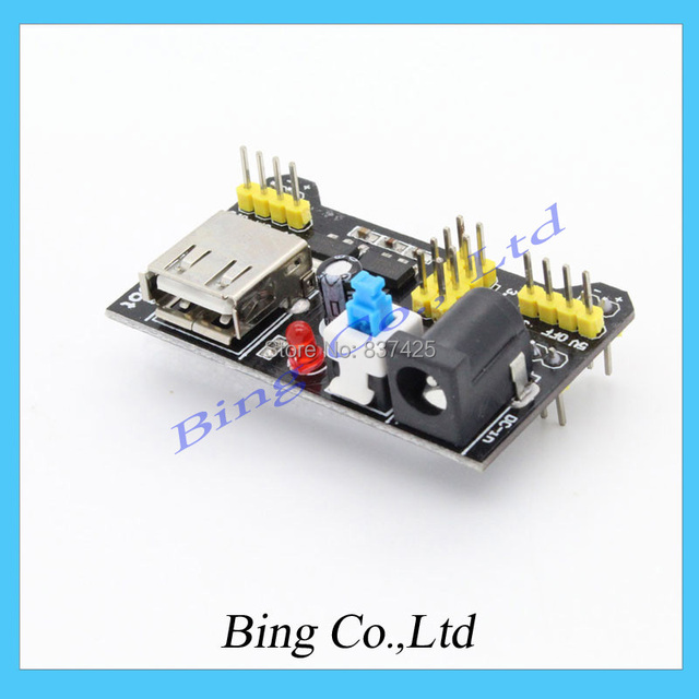 Breadboard power supply  3.3 5V MB102 FOR ARDUINO BOARD SCA-1718 Breadboard Power