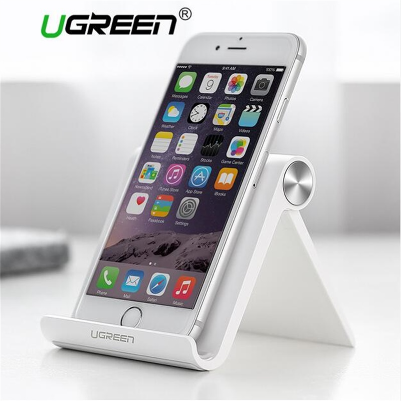 Ugreen foldable desktop Mobile phone holder stand for iPhone xs 8 7 6 Samsung huawei xiaomi ipad desktop tablet stand universal(China)
