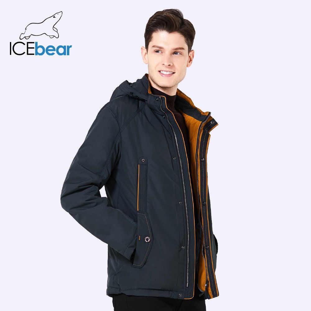 ICEbear 2019 Новый большой размер высокого качества весенняя мужская мода осенняя куртка легкая повседневная  мужская  куртка  B17MC853D