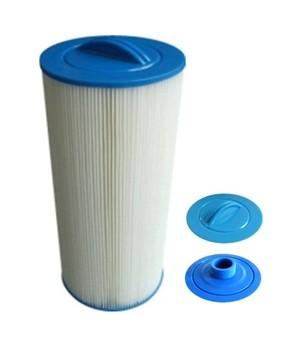 S&G Oceane spa filter External diameter: 149mm Length: 335mm Top: handle Bottom: MPT screw thread 1''1/2 (38mm internal diam)