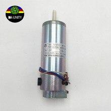 24v DC servo motor 55ZYTD51 100w feeding / take up paper motor for infinti phaeton Aprinter solvent inkjet printer spare part