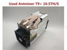 Used AntMiner T9+ 10.5T Bitcoin Miner Asic BTC BCH Miner Economic Than WhatsMiner M3 M10 S9 S9i S9j Z9 Mini DR3 S15 T15 D5 DR5
