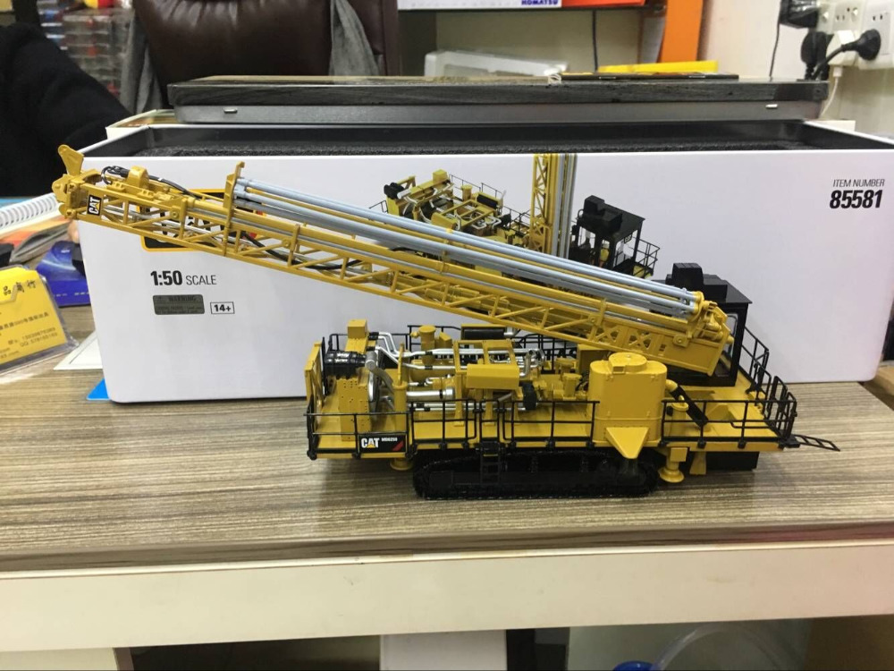 Caterpillar Cat MD6250 Rotary Blasthole Drill 1:50 By DieCast Masters DM85581Caterpillar Cat MD6250 Rotary Blasthole Drill 1:50 By DieCast Masters DM85581