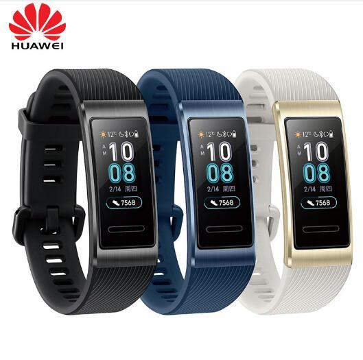 Original Huawei Band 3 Band 3 Pro Smart Bracelet 0 95 inch Tracker Swimming Waterproof Bluetooth