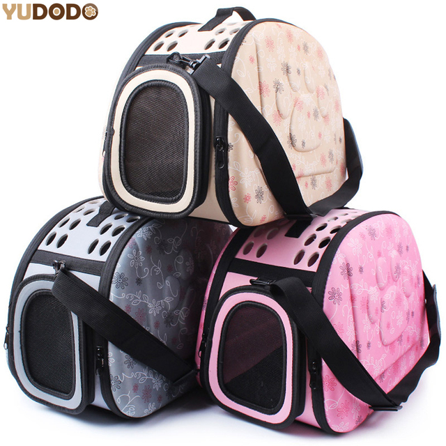 41660c2be2 3 Colors EVA Foldable Pet Carriers Bags For Small Dogs Singles Portable  Breathable Transport Box Cat Puppy Dog Travel Handbag
