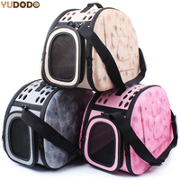 3 Colors EVA Foldable Pet Carriers Bags For Small Dogs Singles Portable Breathable Transport Box Cat Puppy Dog Travel Handbag