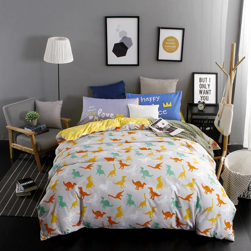 home family style bedding sets 34pcs duvet cover bed sheet pillowcase king queen full twin size bedclothes