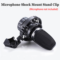 Microphone Shock Mount Stand Clip for AKG H 85 C3000 C2000 C4000 C414 Anti vibration Professional Mic Stand for Recording Studio