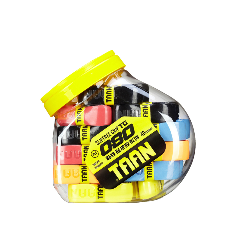 40pcs TAAN TG080 Replacement Grips/badminton/tennis