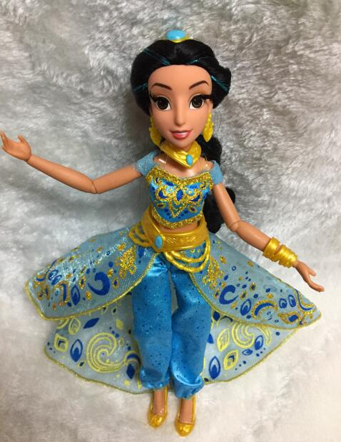Rapunzel Dolls Jasmine Princess Doll Snow White Ariel Belle Rapunzel toys For Girls Brinquedos Toys bjd dolls For Children Kids