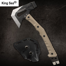 HX OUTDOORS Outdoor Tactical Engineer Axe Weapon Field Camp Axe Mountain Axe Outdoor Camping Axe